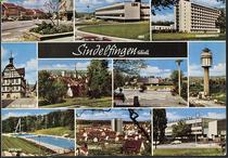 Postkarte mit Wasserturm