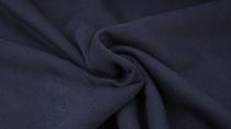 French-Terry-Sweat marineblau