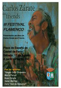 Cartel del III Festival Flamenco