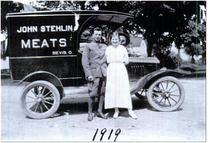 John and Eleonora Stehlin, 1919.