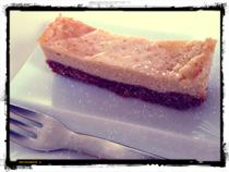 豆乳ベイクドチーズケーキ
