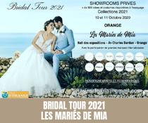 Bridal Tour 2021 à Orange par Les Mariés de Mia