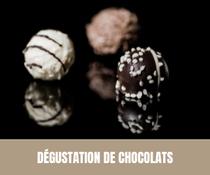 Dégustation de chocolats -EVJF - EVJG