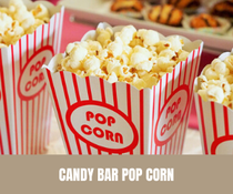 Candy Bar Pop Corn