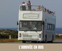 A chaque semaine, son moyen de transport original pour les mariés ! Bus