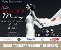 """1ère Edition du salon""""Concept Mariage"""" de Rennes"""