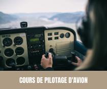 Cours de pilotage d'avion - EVJF - EVJG