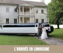 A chaque semaine, son moyen de transport original pour les mariés ! Limousine
