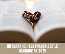 Infographie : Les Français et le mariage en 2019