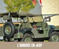 A chaque semaine, son moyen de transport original pour les mariés ! Jeep