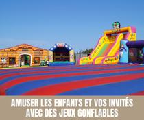 Amuser les enfants et vos invités avec des jeux gonflables