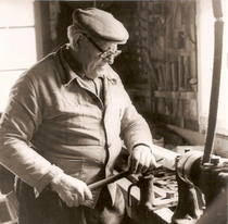 Léon Gensbittel le charron