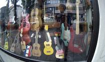 Gitarren Shop Musik Geschäft Laden
