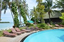 Unsere Palm-Island-Hütte am Chaweng Beach