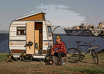 mini camping-car-vélo