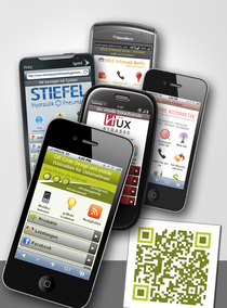 goMobi Gratis-Test mobile Homepage