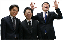 福円隊お気楽3人衆