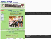 """Ausgedient: Die """"alte"""" homepage"""