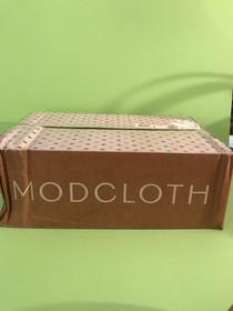 Modcloth shipping box
