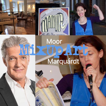 Mix Up Art Max Moor und Marléne Schnabel Marquárdt Marlene Marquardt bei Sky Arte Produktion