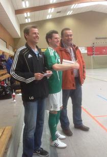 Bester Spieler des Turniers: Sascha Schill