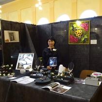 アート刺繍展覧会 TALENTS オートクチュール刺繍 アート刺繍 リュネヴィル刺繍