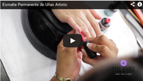 Video de Manicure con Esmalte Permanente