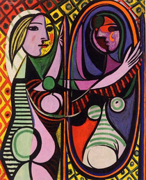 "Pablo Picasso, ""Girl Before Mirror"", 1932"