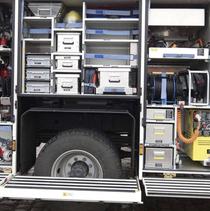 Neben Technik befördern Hilfeleistungslöschgruppenfahrzeuge auch Wasser und Einsatzkräfte – sofern das Leergewicht nicht genauso groß ist wie das maximale Gesamtgewicht.