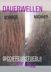 Haarschonende spezial dauerwelle 🤗