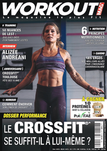 WorkOut, Magazine crossfit, publicité crossfit,