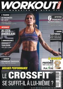 WorkOut, Magazine crossfit, publicité crossfit,