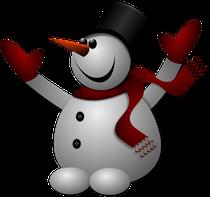 Schneeflöckchen ist Handschuh-Fan