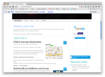 本サイトのドイツ語バージョン