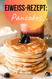 Eiweiß-Rezept: Pancakes.