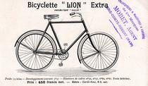 Katalogblatt mit Modell 'Lion' Extra von 1898