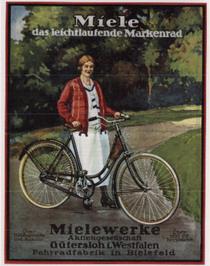 Miele-Werbung Mitte der 1920er Jahre