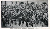 Belegschaft der Fahrradproduktion im Werk Beaulieu 1898