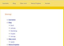Screenshot Sitemap (alt)