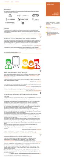 Referenzen-Seite (Ausschnitt)