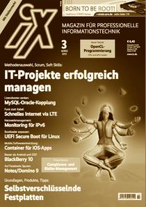 Cover-Foto iX März 2013