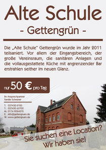 Vereinsheim Gettengrün