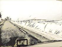 Schnee im Zentralmassiv