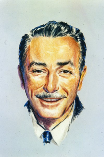 Walt Disney, Soleil conjoint à Uranus