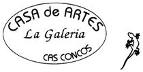 Casa de Artes - La Galería, Cas Concos, Mallorca, Logo