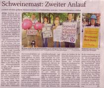 Stormarner Tageblatt 21.08.10