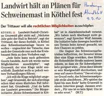 Hamburger Abendblatt 09.09.10
