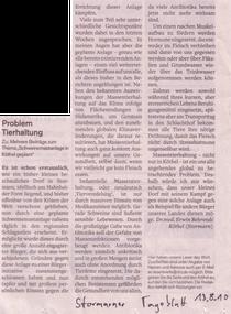 Stormarner Tageblatt 13.08.10