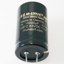 Feinste Mundorf M-Lytic Series ersetzen die billigen Standard 6800uf63v Kondensatoren