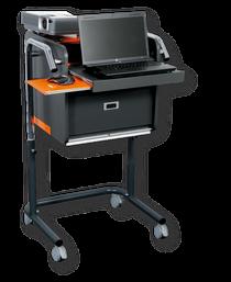 Der Presenter - Mobiler Präsentationswagen für Beamer und Laptop